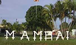 Mambaí - Mambaí-GO-Praça Santa Cruz-Foto:Josemy e Giovanna Oliveira