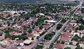 Mara Rosa - Vista aérea da cidade