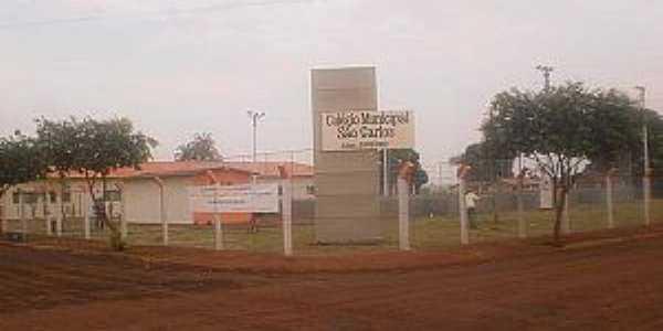 Marcianópolis-GO-Colégio Municipal São Carlos-Foto:goiasinterior.