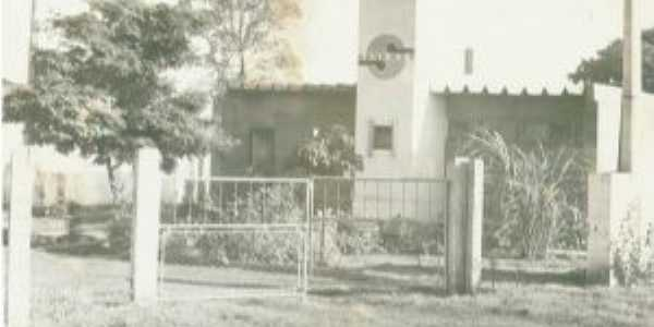 Maurilândia Go, anos 80, sede da Saneago, Por Ivon Rocha Lima
