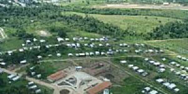 Vista aérea de Envira-AM-Foto:Marcelo Imoto