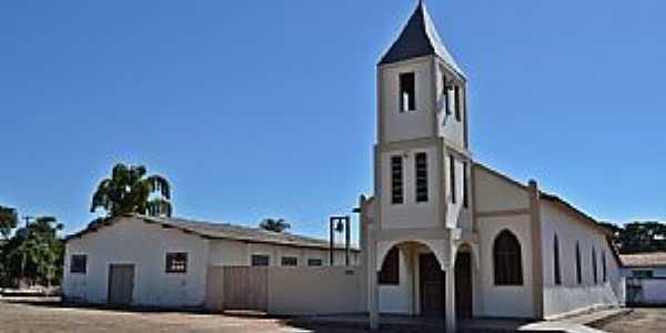 Messianópolis-GO-Igreja Matriz-Foto:Arolldo Costa Oliveira