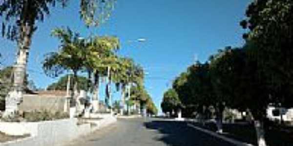 Praças no centro de Mimoso de Goiás-GO-Foto:altairmesquita