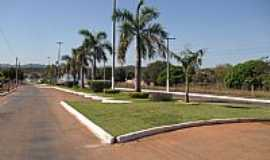 Mina�u - Mina�u-GO-Avenida de acesso � Praia do Sol-Foto:Calpires