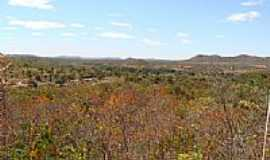 Monte Alegre de Goiás - Vista do Morro de Monte Alegre de Goiás, por Dimas Justo.
