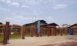 Montes Claros de Goiás - Montes Claros de Goiás-GO-Escola Estadual José Dilma Maciel-Foto:wender marques