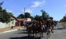 Montividiu do Norte - cavalgada de Montividiu para Porangatu, Por Ruberlan Cavalcante  Pimentel