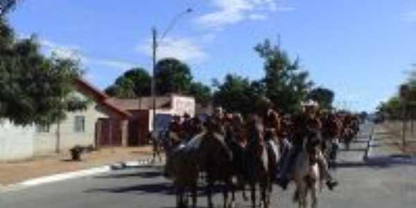 cavalgada de Montividiu para Porangatu, Por Ruberlan Cavalcante  Pimentel