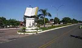 Mossâmedes - Entrada da cidade-Foto:biketrilha