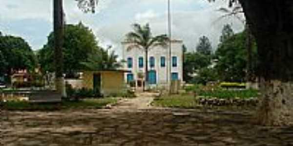 Mossâmedes-GO-Praça e Igreja de São José-Foto:Angela.go