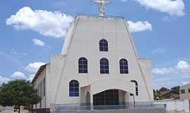 Mozarlândia - Mozarlândia-GO-Catedral de N.Sra.do Perpétuo Socorro-Foto:Vicente A. Queiroz