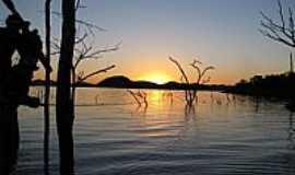 Niquelândia - Niquelândia-GO-Pôr do Sol no Lago Serra da Mesa-Foto:Itamar Coelho