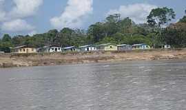 Fonte Boa - Fonte Boa-AM-Chagada pelo Rio Solimões-Foto:Ledemir Bertagnoli