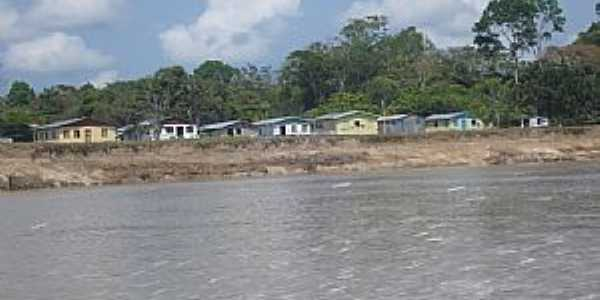 Fonte Boa-AM-Chagada pelo Rio Solimões-Foto:Ledemir Bertagnoli