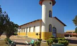 Nova Crixás - Nova Crixás-GO-Capela de São José dos Bandeirantes no Distrito do mesmo nome-Foto:Pe. Edinisio Pereira…