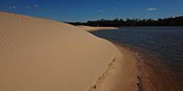 Nova Crix�s-GO-Dunas do Rio Araguaia-Foto:Pe. Edinisio Pereira�