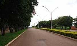 Nova Iguaçu de Goiás - Avenida-Foto:dioceliofreitas