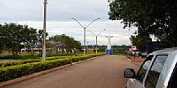 Avenida e  o Cristo-Foto:dioceliofreitas