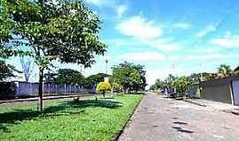 Novo Brasil - Novo Brasil-GO-Avenida Principal-Foto:novobrasil.go.gov.br