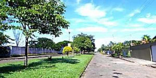 Novo Brasil-GO-Avenida Principal-Foto:novobrasil.go.gov.br