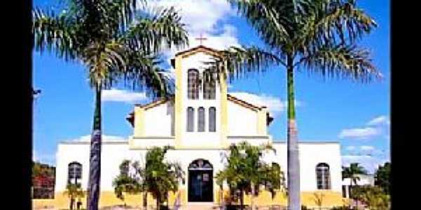 Novo Brasil-GO-Igreja Matriz-Foto:Barnabé Neto