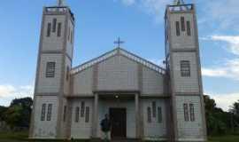 Freguesia do Andirá - Igreja Nossa Senhora de Belém em Freguesia do Andirá, Por Maria Luciana Ribeiro