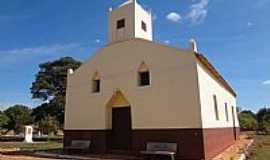 Orizona - Orizona-GO-Capela de São Sebastião np Povoado de Montes Claros-Foto:Pe. Edinisio Pereira…