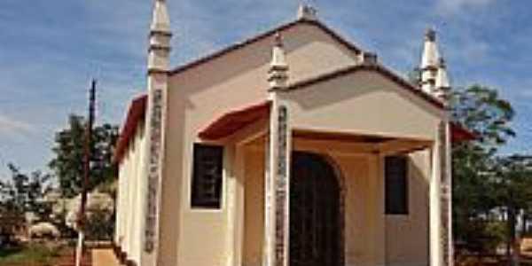 Orizona-GO-Capela de N.Sra.da Guia no Povoado de Corumbajuba-Foto:Pe. Edinisio Pereira…