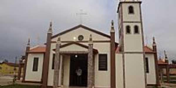 Orizona-GO-Capela de N.Sra.das Graças no Povoado de Buritizinho-Foto:Pe. Edinisio Pereira…