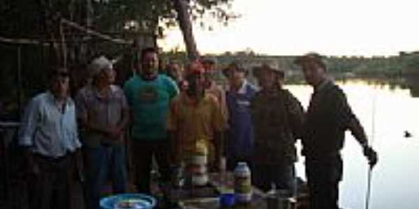 Acampamento do Barracão Rio Cristalino-Foto:sidneyf2
