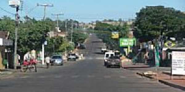 Avenida em Palestina de Goiás-Foto:João Santos (JS)