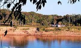 Guajará - Guajará-AM-Beira rio-Foto:Cesar Junior