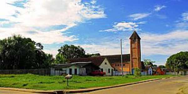 Guajará-AM-Igreja da cidade-Foto:Cesar Junior