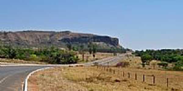Rodovia GO-164 em Paraúna-Foto:Arolldo Costa Olivei…