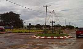 Perolândia - Rotatória no centro da cidade-Foto:Joao paulo 064 99314…