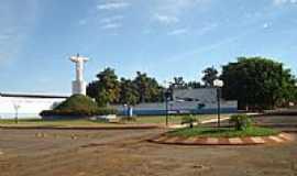 Perolândia - Praça Central foto  luismar da silva Prado