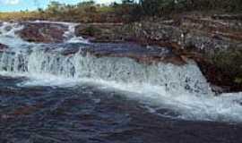 Piranhas - Piranhas-GO-Cachoeira Cabeceira Limpa-Foto:Juliani Ozarczuki