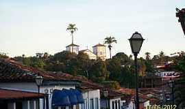 Pirenópolis - Pirenópolis-GO-Vista parcial da cidade-Foto:Josue Marinho
