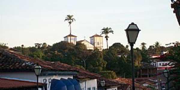 Pirenópolis-GO-Vista parcial da cidade-Foto:Josue Marinho