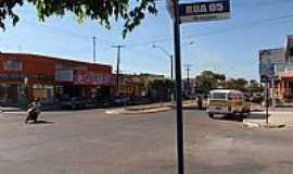 Porangatu - Porangatu-GO-Avenida Federal no centro-Foto:RioPreto