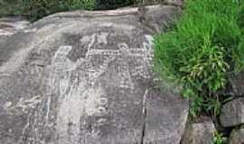 Iauaretê - Iauaretê-AM-Inscrições Rupestres nas pedras-Foto:Cristopher Maia