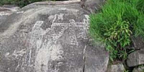 Iauaretê-AM-Inscrições Rupestres nas pedras-Foto:Cristopher Maia