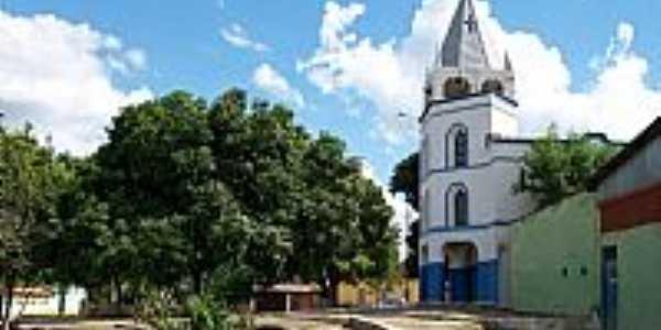 Professor Jamil-GO-Praça da Igreja de N.Sra.das Graças-Foto:Arolldo Costa Olivei…