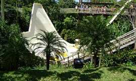 Rio Quente - Rio Quente-GO-Half Pipe uma atração radical no Hot Park-Foto:PatrickMaboni
