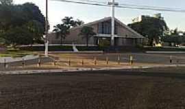 Rio Verde - Igreja de N.Sra.das Dores em Rio Verde-Foto:Neander Moraes