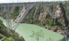 Água Branca - ponte metalica, Por Ana Santos Silva