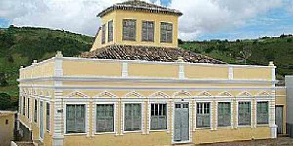 Água Branca-AL-Casa do Barão-Foto:www.alagoasnanet.com.br