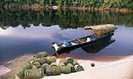 Içanã - Transporte de cestaria Comunidade Santa Rosa-Foto:globoamazonia