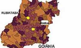 Rubiataba - Mapa