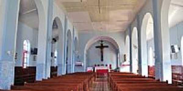 Interior da Paróquia de Santa Cruz de Goiás-GO-Foto:jackson a de moura